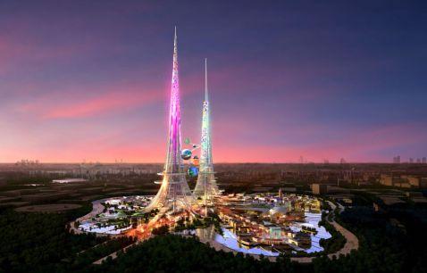 Як буде виглядати китайська вежа Фенікс - найвища і найзеленіша?