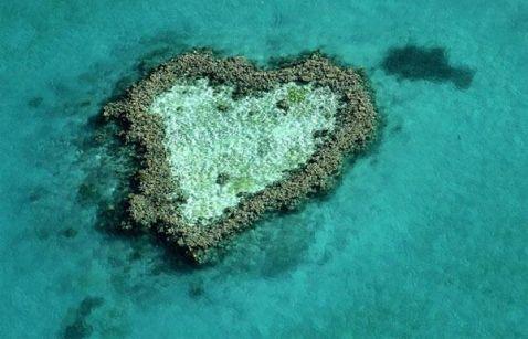 10 неймовірних знімків навколишнього середовища у формі серця