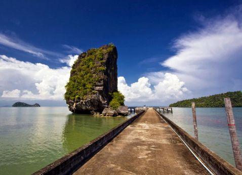 Національний морський парк в Туратуао, Таїланд