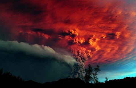 18 фото виверження вулканів