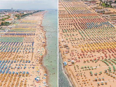 12 дивовижних фото італійських пляжів з висоти пташиного польоту