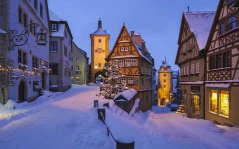 30 найбільш казкових зимових міст світу (частина 1)