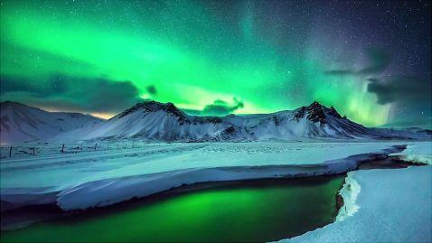 12 неземних знімків північного сяйва над Гренландією та Ісландією
