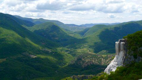 Скам'янілі водоспади Мексики - унікальне чудо природи