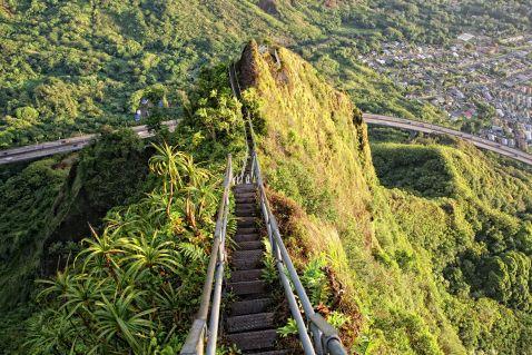 Унікальні сходи, що ведуть прямо в небеса – неймовірне видовище