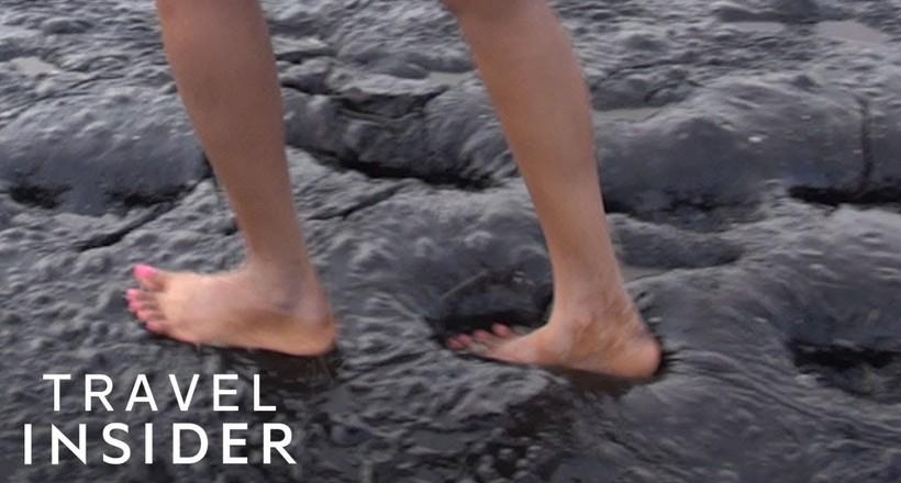 Відео: Унікальне асфальтове озеро зі spa-ефектом на острові Тринідад