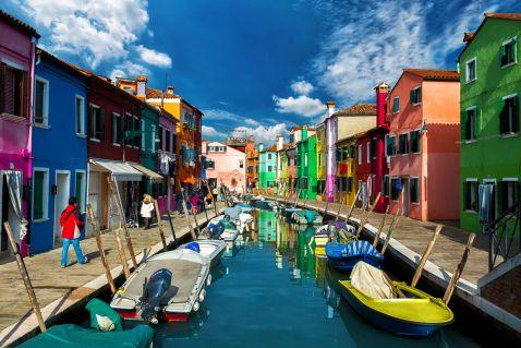 Райдужний район Венеції – різнобарвний Бурано