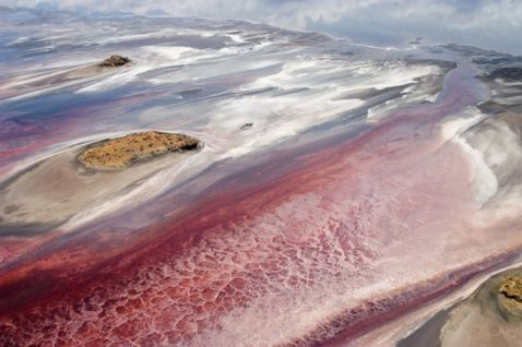 10 фото пекельного озера Натрон, при погляді на яке в жилах холоне кров