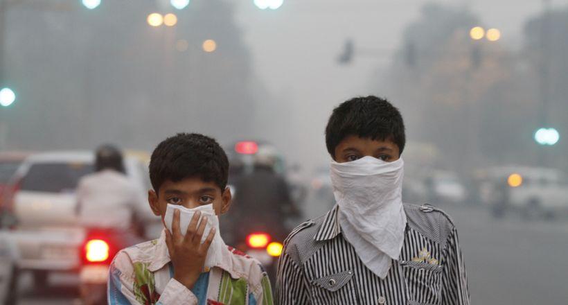 Населення Індії вмирає з-за брудного повітря