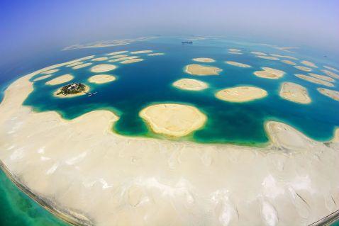 Як створюють штучні острова в Дубаї?