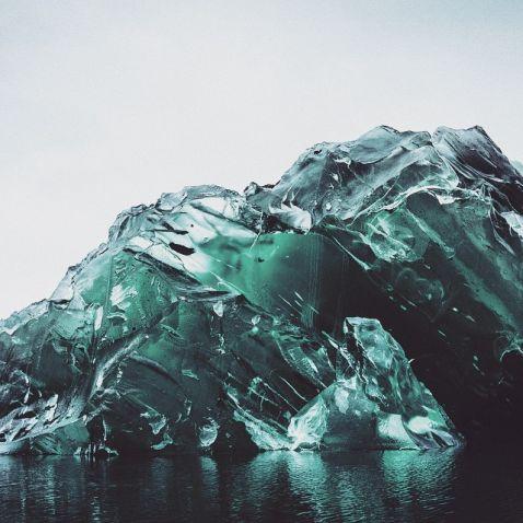 Рідкісні сюрреалістичні знімки айсбергів