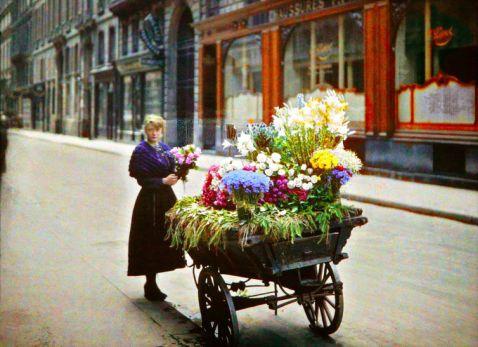 Ось як виглядав Париж 100 років тому