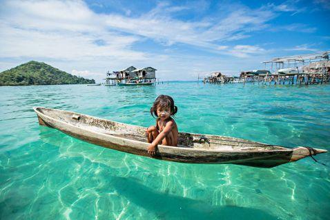 Морські цигани: плем'я на Борнео, яке живе у власному маленькому раю