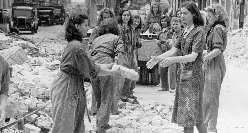 Трюммерфрауэн: жінки, восстанавливавшие Німеччини після Другої світової