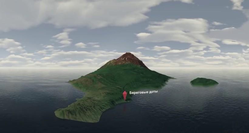Відео-прогулянка у форматі 360°: Матуа — загадковий острів Курив з багатою історією