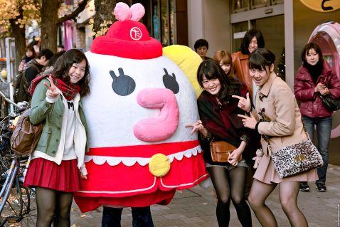 20 неймовірних знімків про вуличну моду в Японії