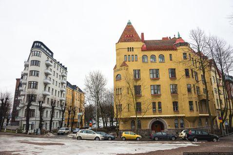 Фінляндія, Гельсінкі: район Ейра