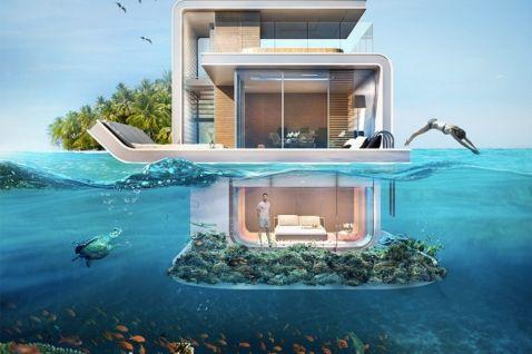 У Дубаї побудують підводні вілли, які стануть мрією кожного!