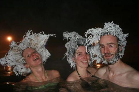 Божевільні замерзлі зачіски — екзотична розвага канадців