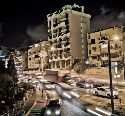 Мало кому пощастило побачити таємну сторону цього незвичайного будинку в Тель-Авіві!