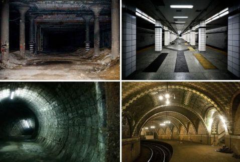 7 найбільш вражаючих занедбаних станцій метро зі всього світу