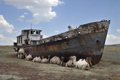 Пересихання Аральського моря. Одна з жахливих екологічних катастроф сучасності!
