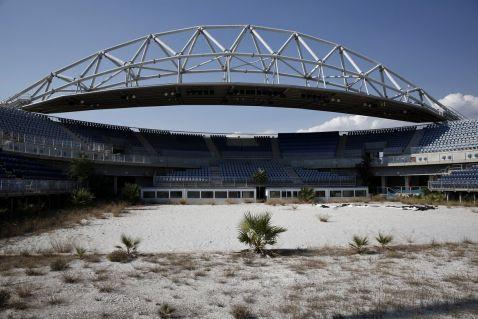 Все, що залишилося від Олімпійських ігор 2004 року. На це будівництво було витрачено 16,6 млрд доларів...