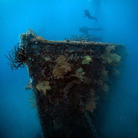 Лагуна загиблих кораблів