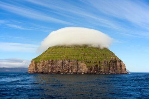 Острів з короною з хмар. Одне з найдивовижніших місць на нашій планеті!