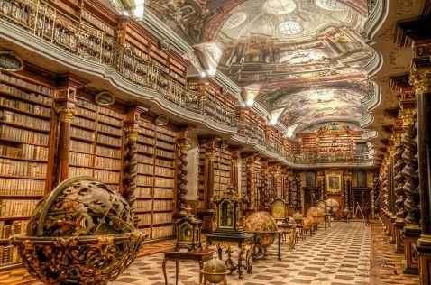 Найкрасивіша бібліотека в світі знаходиться в Празі