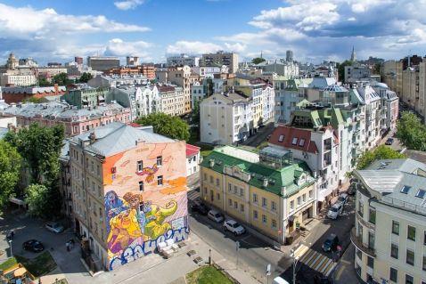 Найефектніші московські графіті з висоти пташиного польоту