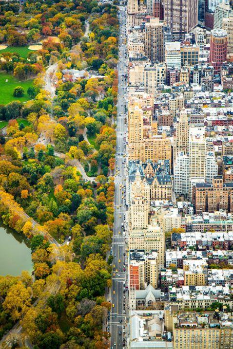 Знімок тижня! Нью-Йорк: разючий контраст двох світів