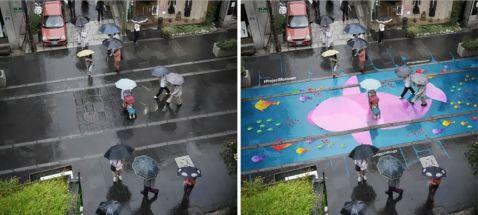 Завдяки ЦЬОМУ в Південній Кореї більше ніхто не сумує під час дощової погоди!