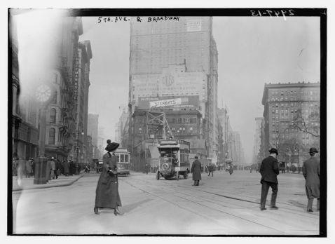Як виглядав Нью-Йорк 100 років тому. Унікальні кадри!