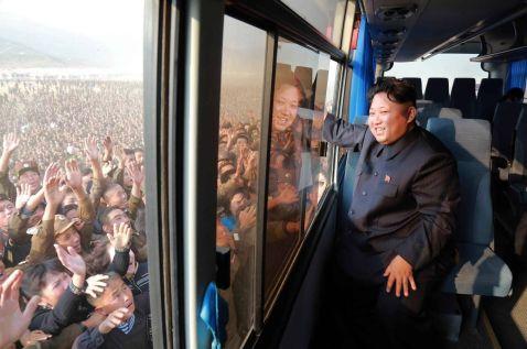Кадри повсякденного життя в Північній Кореї
