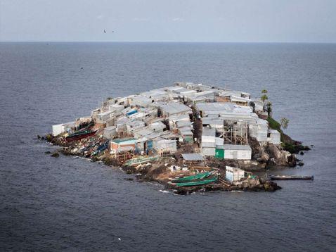 Найбільш густонаселений острів у світі: Мгинго