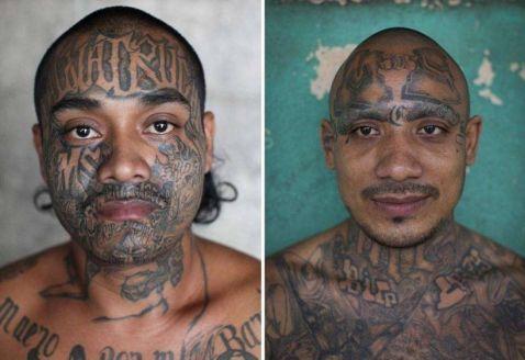 Портрети ув'язнених сальвадорської в'язниці, в яку бояться увійти навіть охоронці