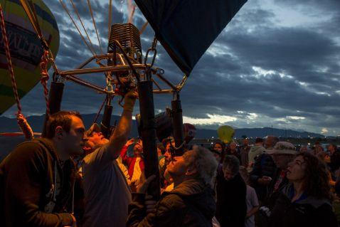 Фестиваль повітряних куль в Альбукерке