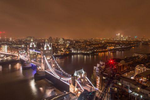 17 запаморочливих знімків Лондона з висоти дахів