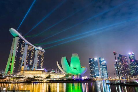 Готель Marina Bay Sands в Сінгапурі