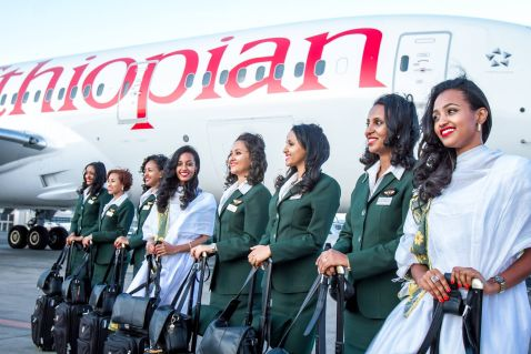 В Ефіопії запустили перший в світі авіарейс, на якому працюють тільки жінки