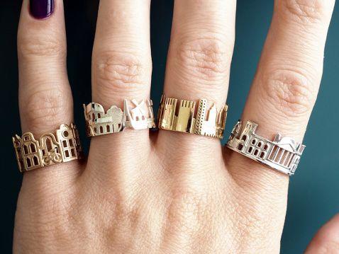 Улюблений місто на пальці: приголомшливі кільця — новий світовий тренд!