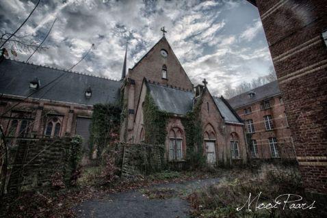 Покинута психіатрична лікарня в Бельгії