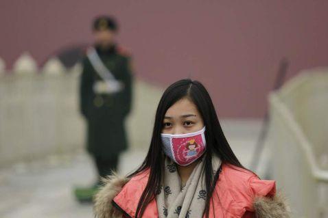 Захисні маски стали частиною моди в Китаї