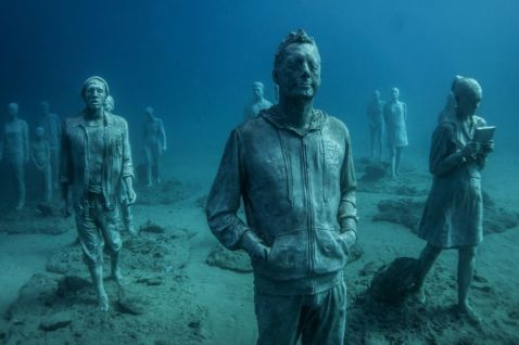 В Європі відкриється перший підводний музей. Це буде щось!