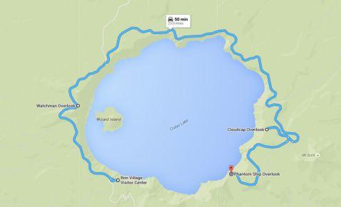 США. Національний парк Crater Lake