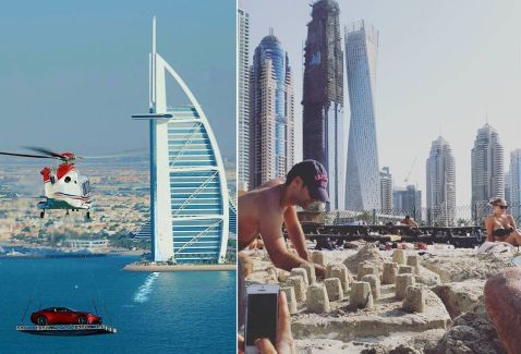 29 дуже дивних знімків з Дубая, які нам не зрозуміти