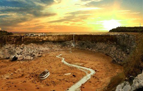 Як виглядали б світові пам'ятки після Великої посухи