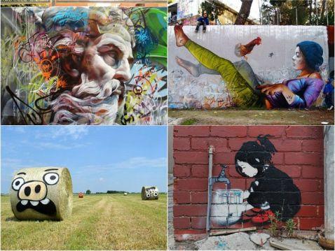 30 приголомшливих стріт-арт робіт зі всього світу