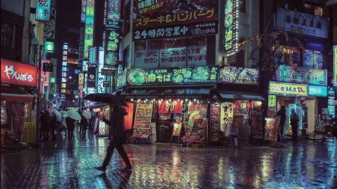 15 фото, на яких відображена таємнича краса нічного Токіо